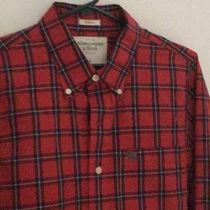 Abercrombie Mens Tartan Shirt